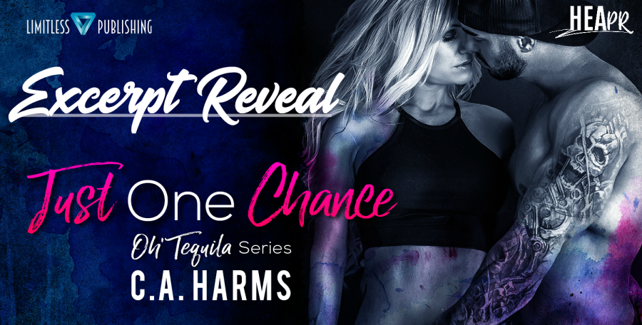 Just One Chance EXCERPT REVEAL BANNER