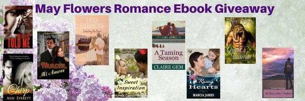 May Flowers Romance Ebook Giveaway