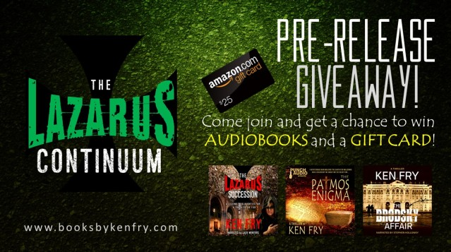 The Lazarus Succession Giveaway