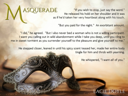 Masquerade Teaser