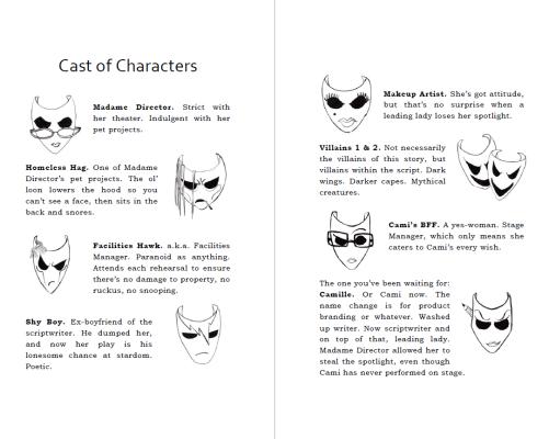 IKYLAM Cast of Characters Sneak Peek